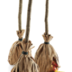 Witch broom halloween treat bags