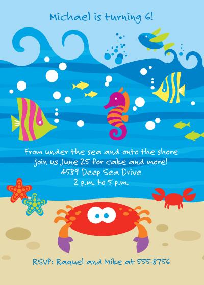 Deep sea theme frontimage