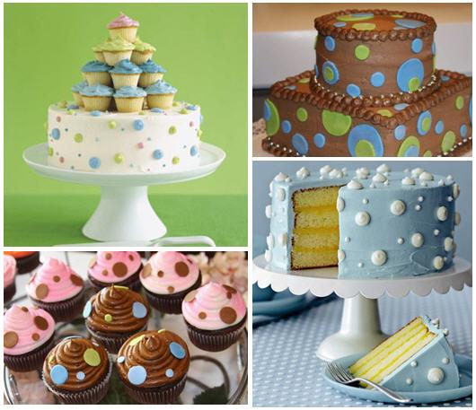 Polka dot cake inspiration