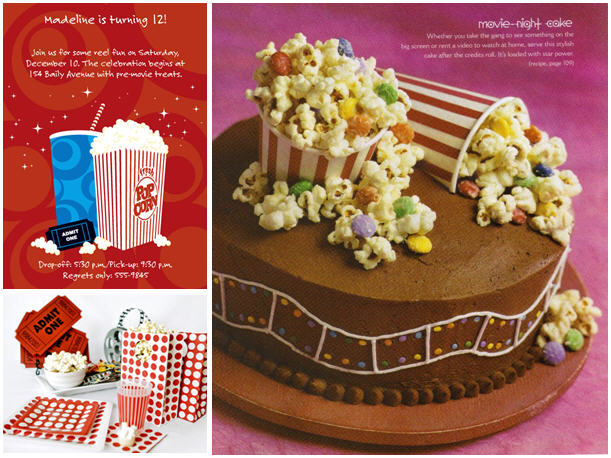 Thecelebrationshoppe moviebirthdaypartyideas