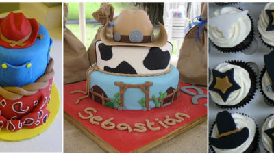 Wild west cowboy cakes