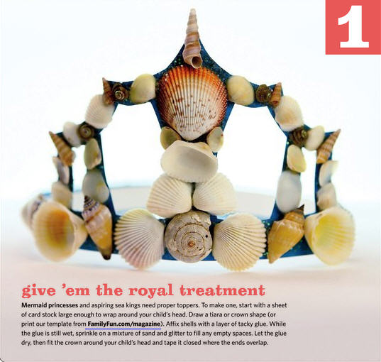 Shell crown craft