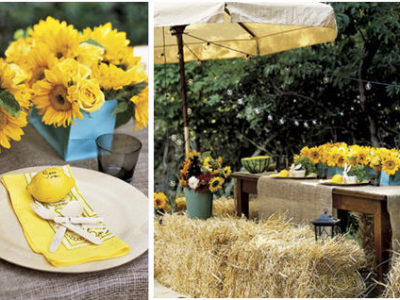 Summer citris table