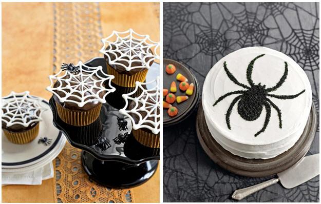 Elegant Spider Cakes   Kim Byers