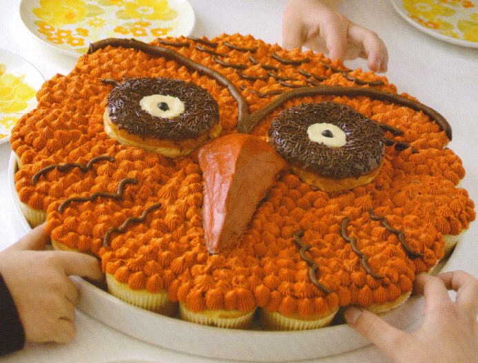 Pull Apart Owl Cupcake | Kim Byers