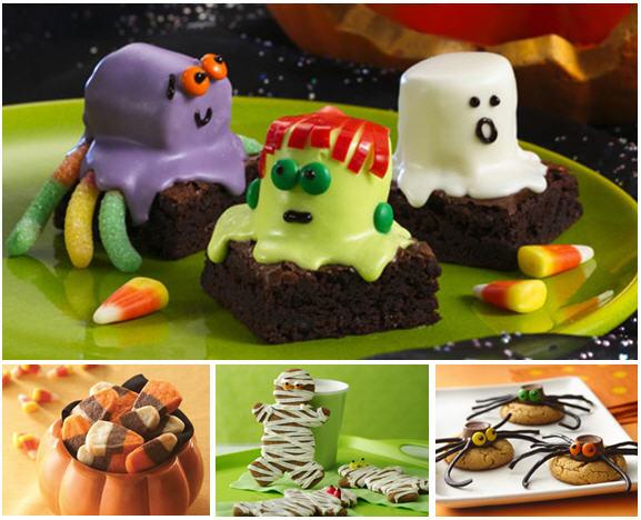 Brownie monsters