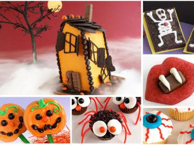 Haunted house cake pumpkin cookies1
