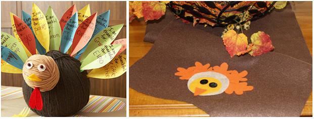 kid-table-thanksgiving-diy-turkey | Kim Byers