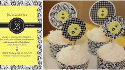 Buzz yellow damask preview
