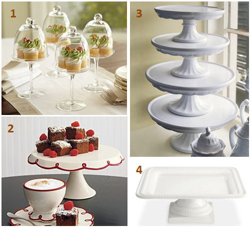 Seasonal cake plates