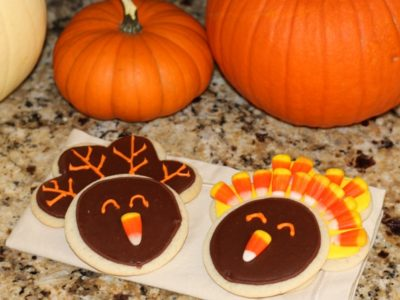 The celebration shoppe turkey cookies