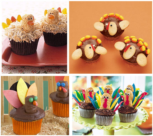 Turkey cupcake roundup