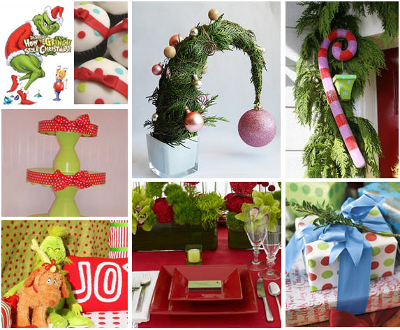 Grinch stole christmas party ideas