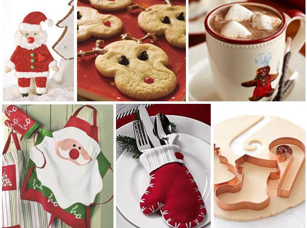 Santas cookie party prep
