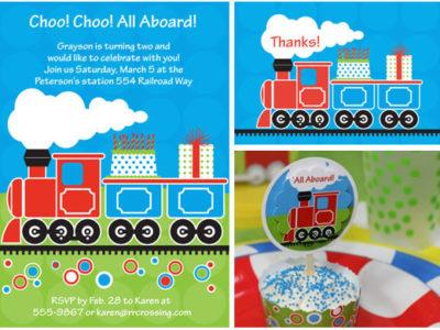 Thecelebrationshoppe trainbirthdaypartyideas2