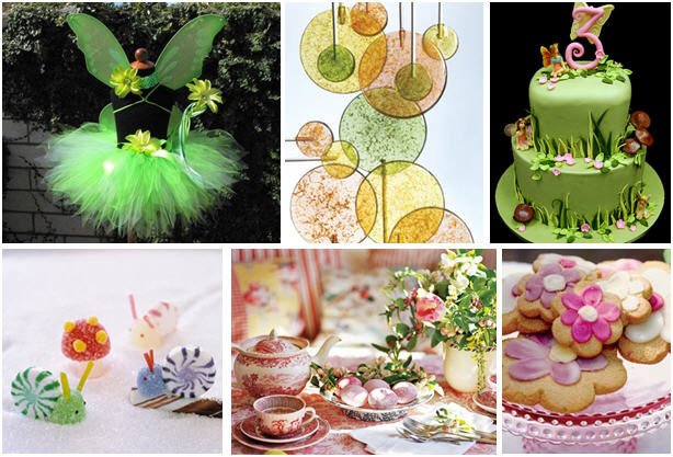 woodland-fairy-party-inspiration-board