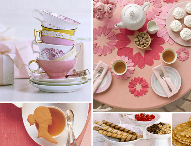Mothers day tea party idea