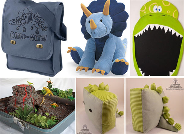 Dinosaur crafts and toys