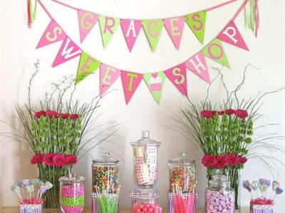 Graces candyland sweets shop party