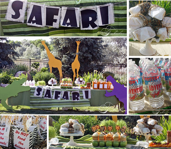 Safari adventure birthday party ideas