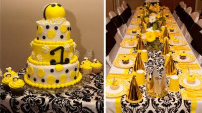 The celebration shoppe customer teenas chic bee birthday