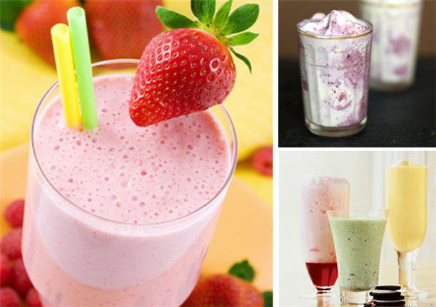 Yummy milkshakes for summer fun2