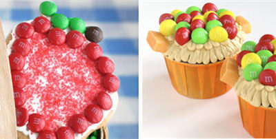 Back to school apple cookies cupcakes