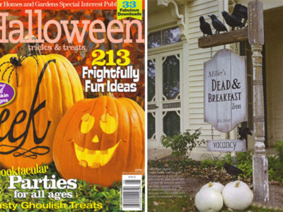 Better homes and gardens tricks treats 2010 issue