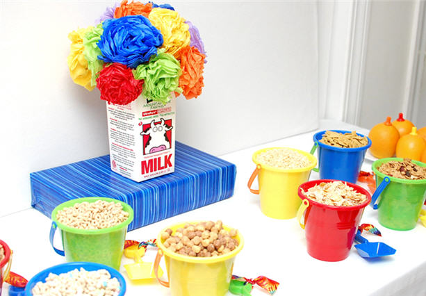 Cereal back to school breakfast party