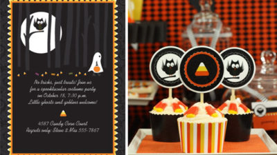 The celebration shoppe candy corn collection