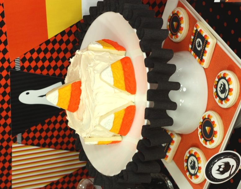 The celebration shoppe candy corn collection cake1