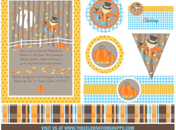 The celebration shoppe harvest collection storyboard