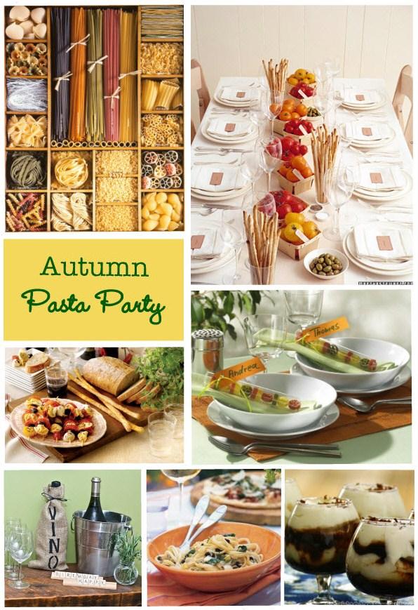Autumn pasta party