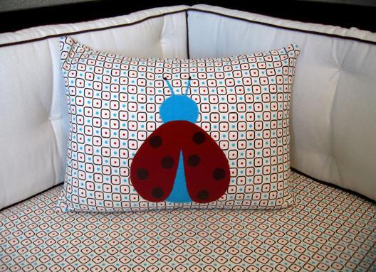 Ladybug inspired nursery1