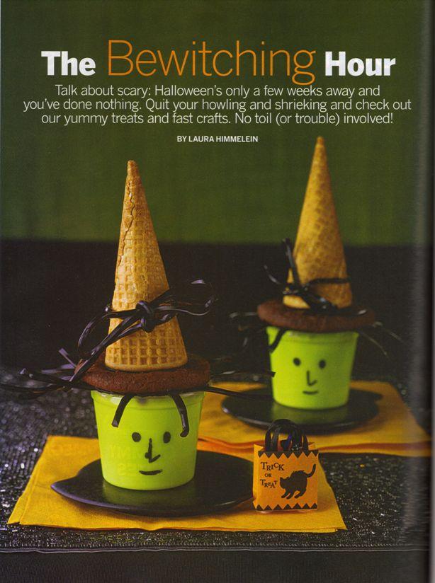 Parenting magazine halloween treats 2010