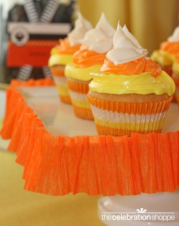 The celebration shoppe candy corn cupcake2 wl