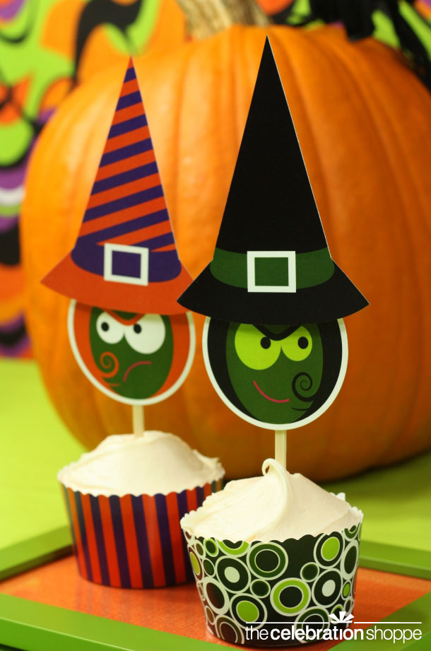 The celebration shoppe witch sister cupcakes