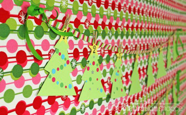 Easy advent calendar craft with kids wl