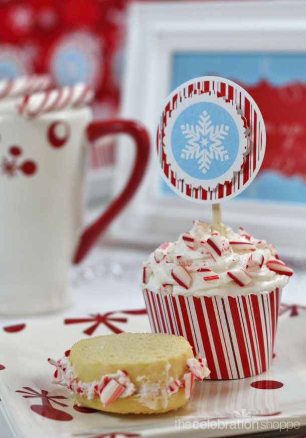 the-celebration-shoppe-mod-candy-cane-snowflake-cupcake