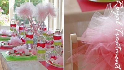 Customer raquel princess tables
