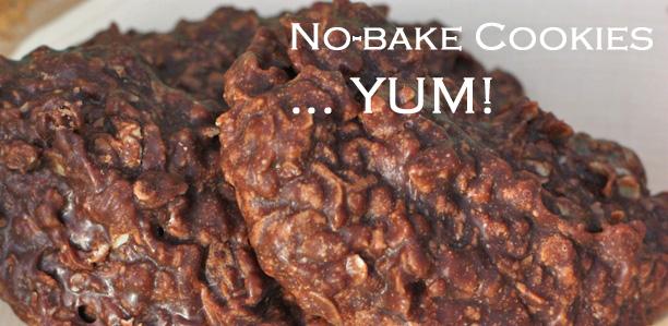 No bake chocolate cookie recipe