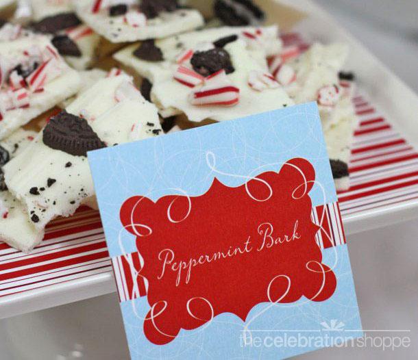 Peppermint cookie bark wl