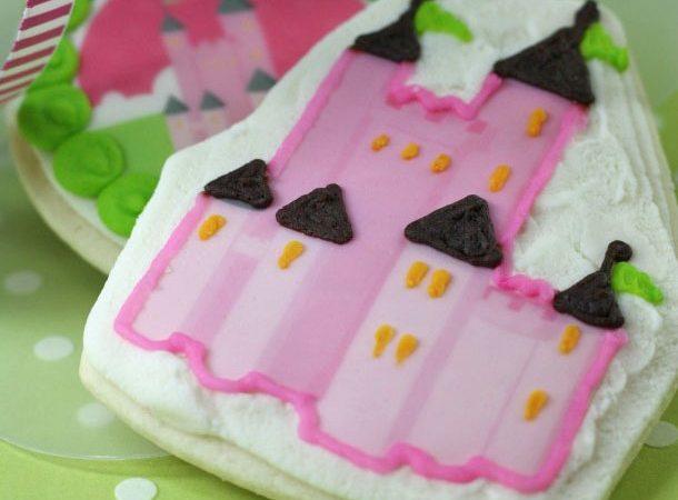 Princess castle cookie box1