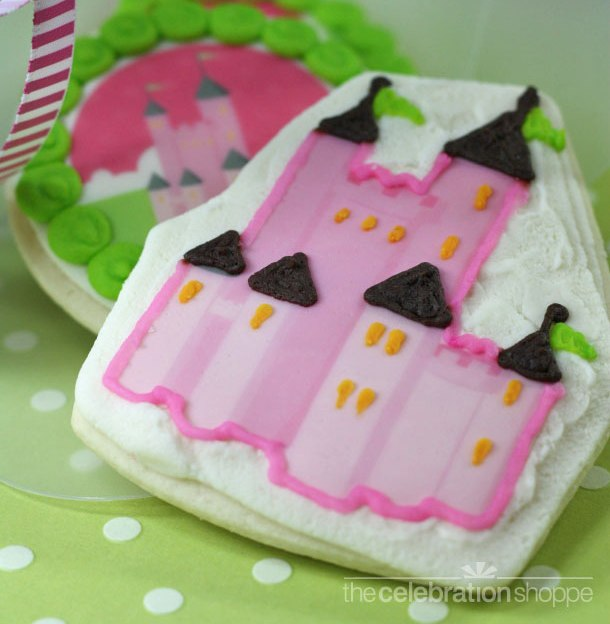 Princess castle cookie box1
