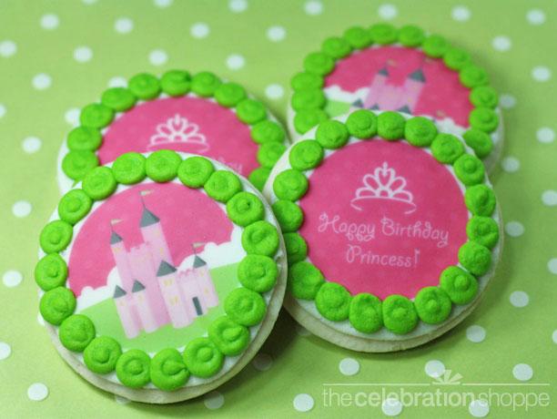 princess-castle-crown-cookie-rounds