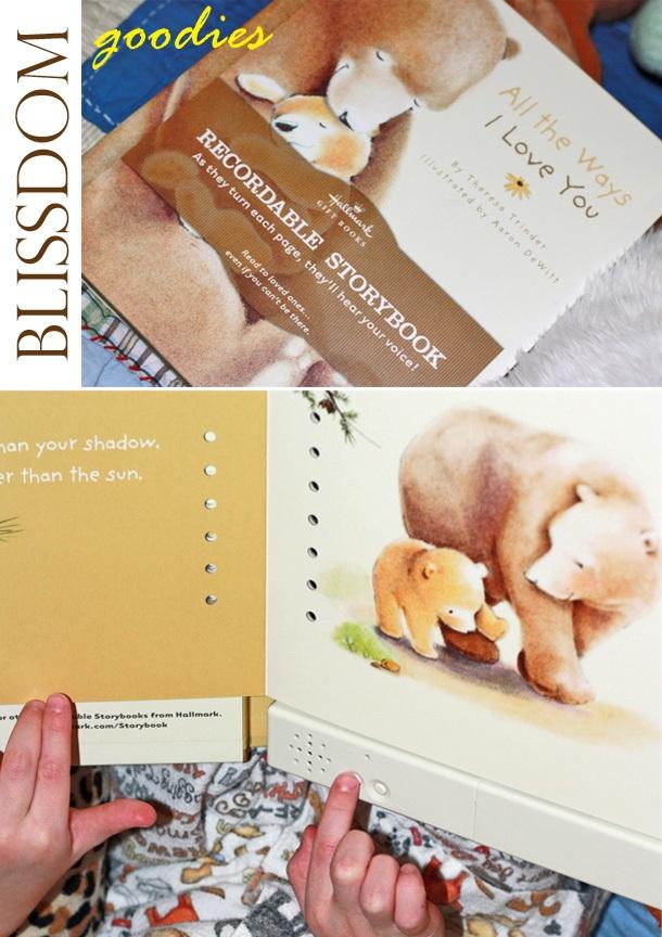 Blissdom blogger gift from hallmark1