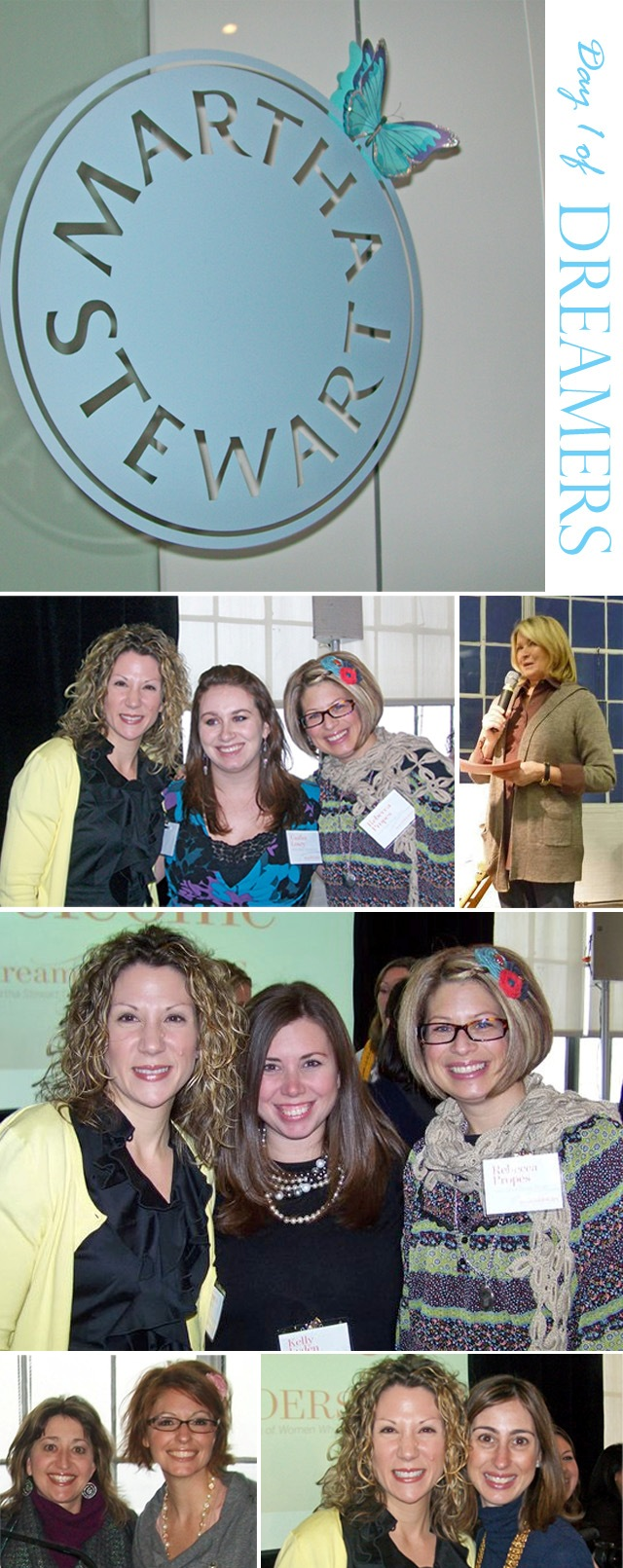 Martha stewart dreamers into doers event 2011 day 12
