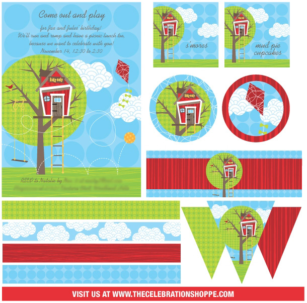 The celebration shoppe tree house collection storyboard2