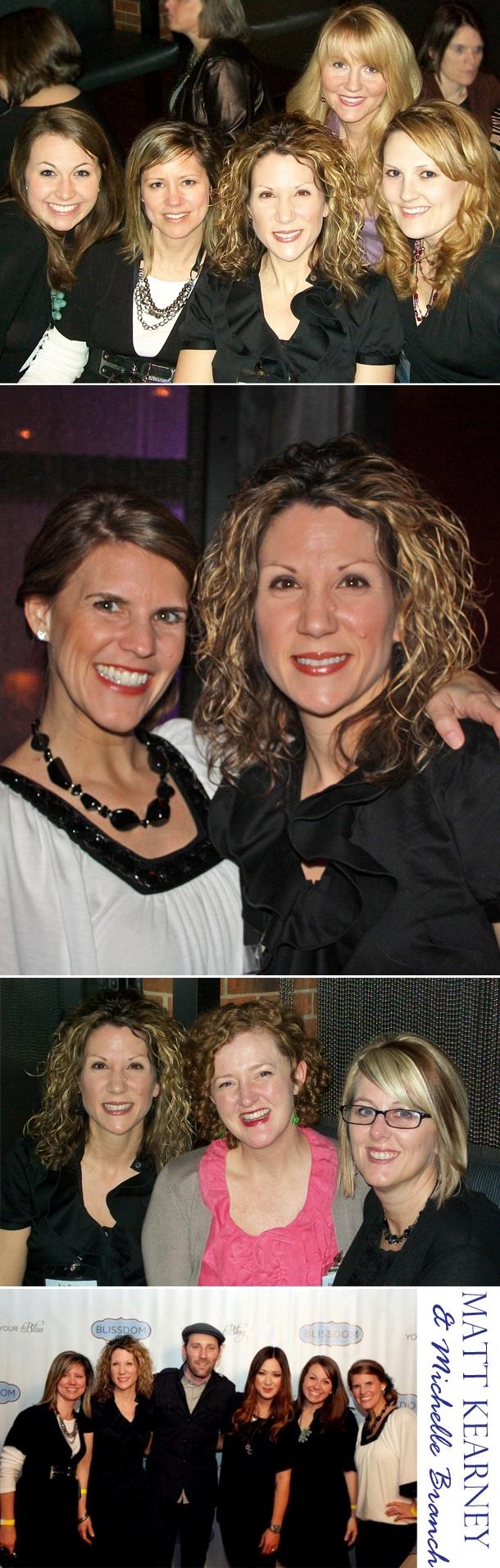 Blissdom event w matt kearney michelle branch 20112