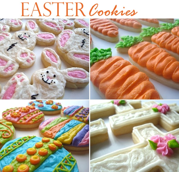 Sweet tooth cottage easter cookie assortment